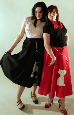 50's skirts only from Kenickys Fancy Dress