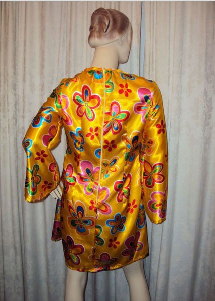 Handmade women's 70's fancy dress costume size 8 to 40+