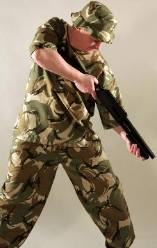 Mens Armed Forces Costume