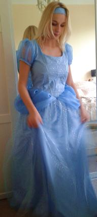Cinderella dress from Kenickys