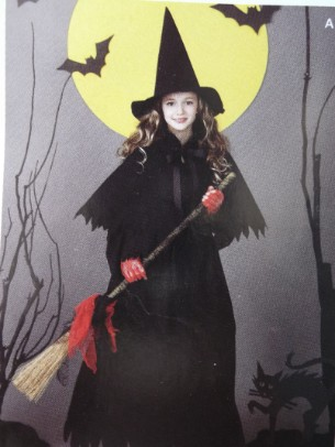 childrens witch costume