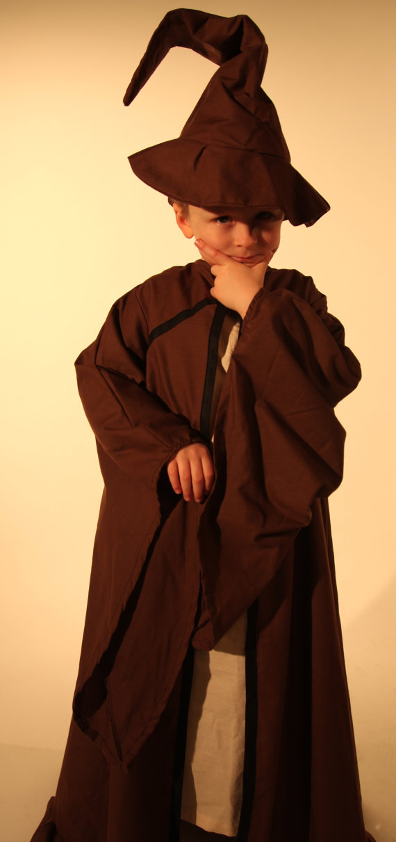 Boys Wizard Robe