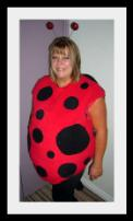 Ladybird Fancy Dress Costume all sizes avaialble