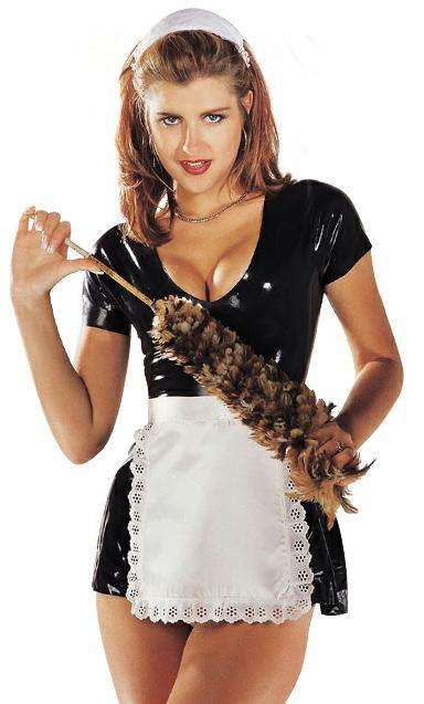 French Maids Costume Latex