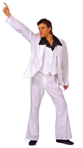 Men's Saturday Night Fever Costume From Kenickys Fancy Dress