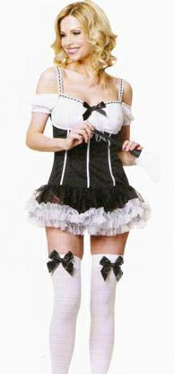 Maids dress with stockings