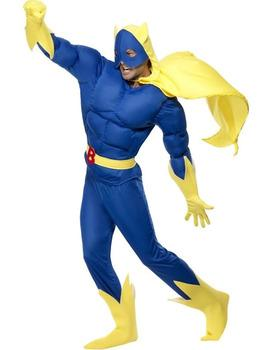 Bananaman fancy dress costume