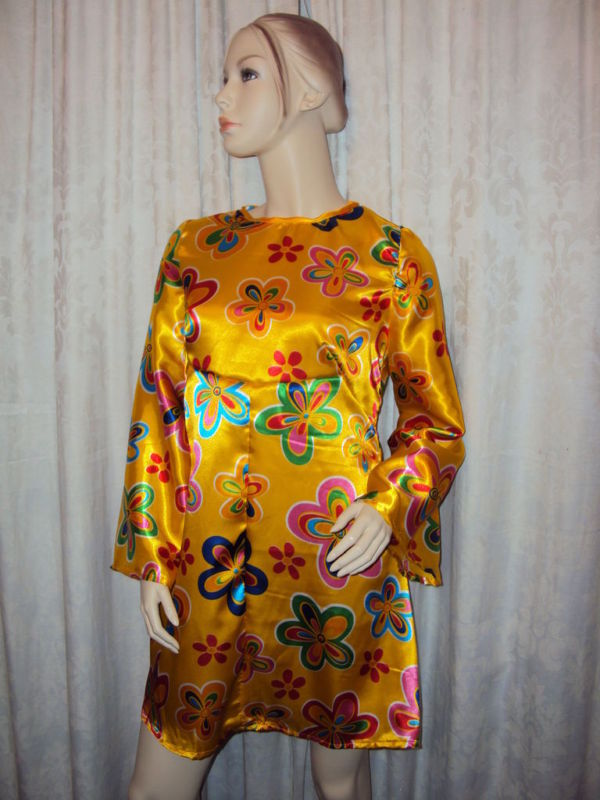 Handmade Women's 70's fancy dress costume all sizes available 8 to 40+