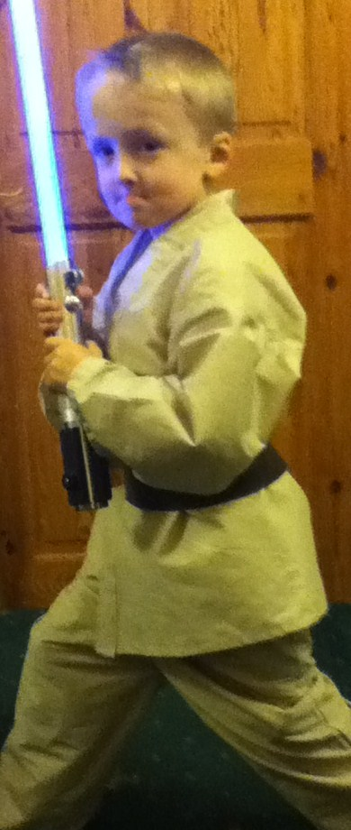 childrens jedi costume